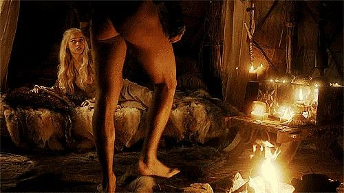 Unfortunately, we only got to enjoy this buff Dothraki behind for one season, but the sex scenes between Khal Drogo and Daenerys Targaryen will live on in our hearts forever.  Source: HBO