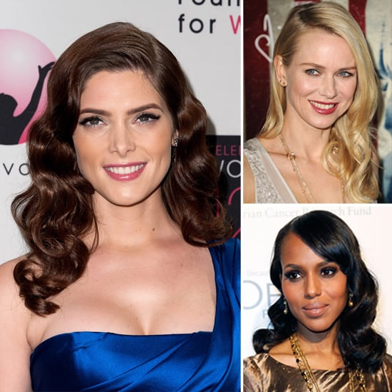 Celebrity Retro Waves Hairstyles