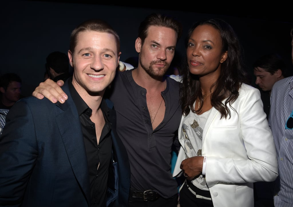 Ben McKenzie, Shane West, and Aisha Tyler hung out at Playboy and A&E's party for Bates Motel on Friday.