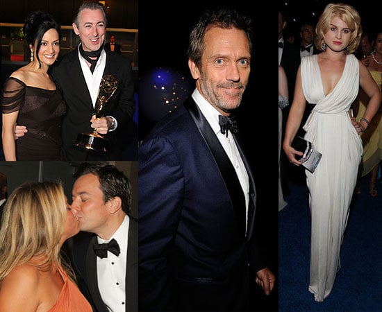 Pictures of Hugh Laurie Jon Hamm, Jimmy Fallon, Nina Dobrev, Kyra Sedgwick and Tina Fey at the Emmy Awards Governor's Ball