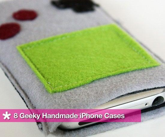 8 Geeky Handmade iPhone Cases