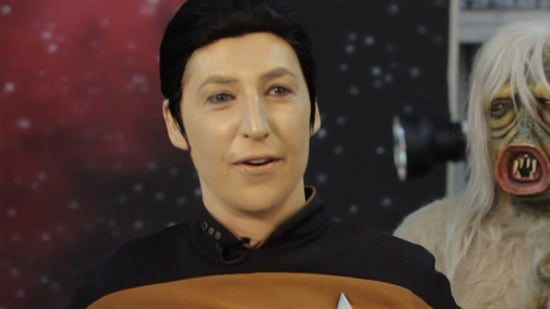Mayim Bialik Channels Her Inner Spock, Captain Kirk and More for 'Star Trek' Transformation