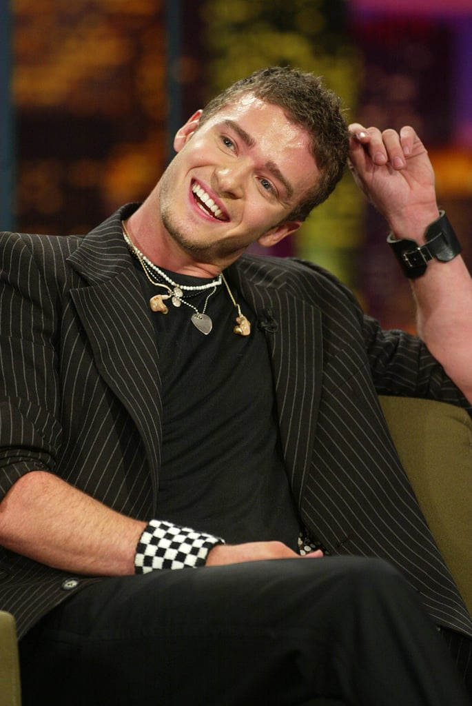 When he blushed on The Tonight Show With Jay Leno.