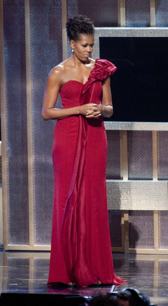 Wearing J. Mendel at the BET Honors in 2012.