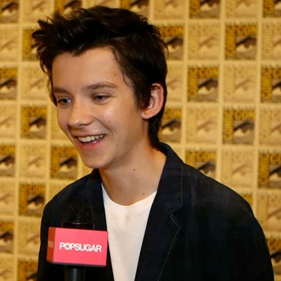 Asa Butterfield Ender's Game Interview at Comic-Con 2013