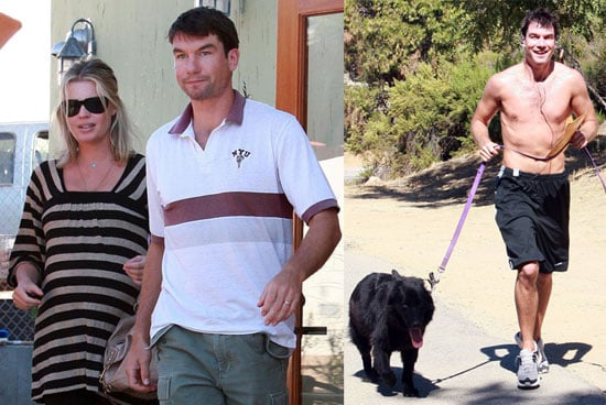 Photos of Pregnant Rebecca Romijn and Jerry O'Connell in LA