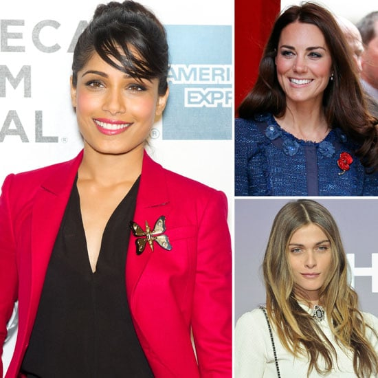 Celebrities Wearing Brooches