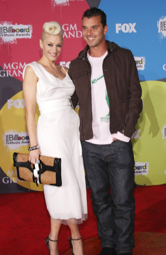 Musical couple Gwen Stefani and Gavin Rossdale posed for the cameras in December 2006.