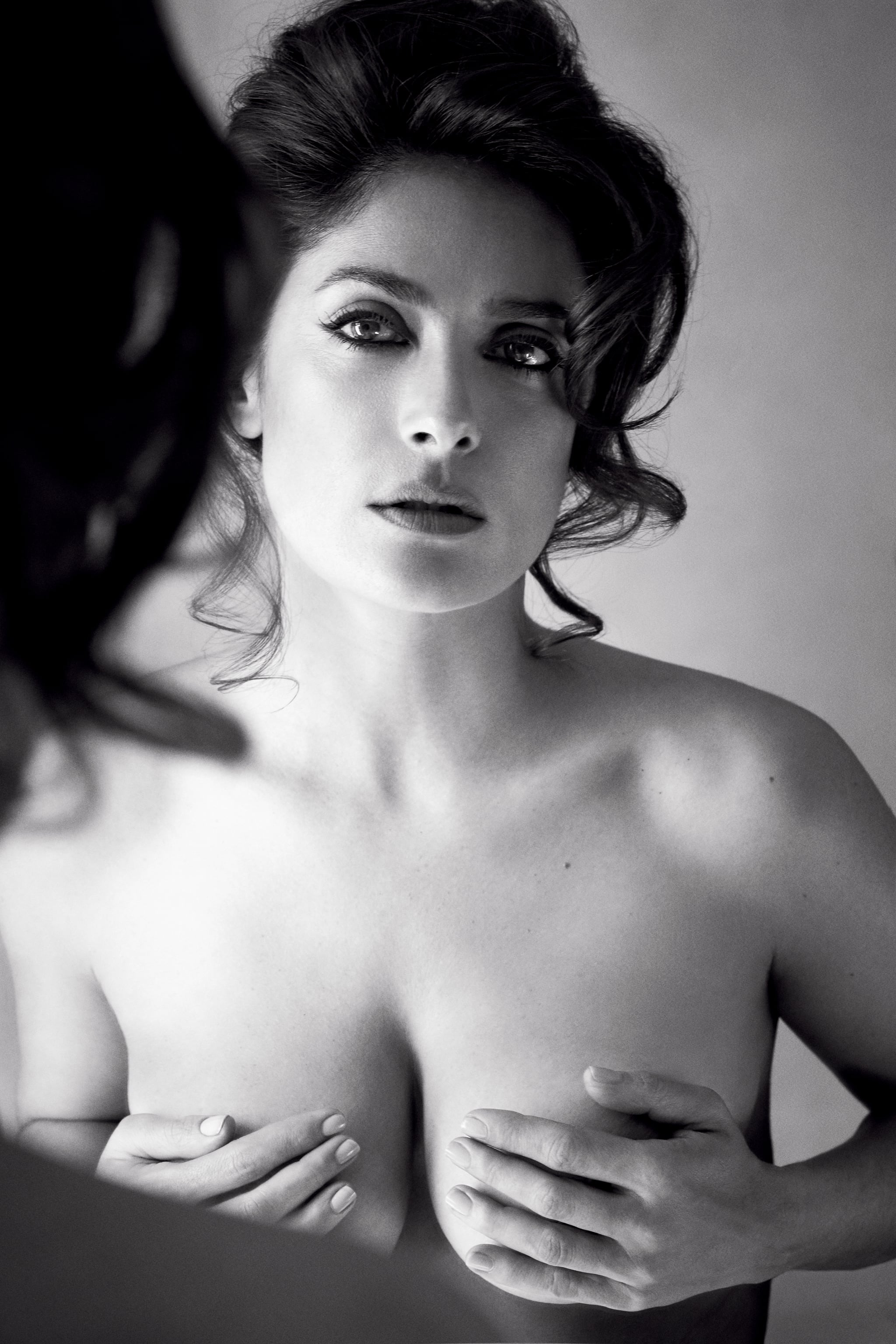 Salma Hayek Goes Topless: At My Age, Its Exciting - E