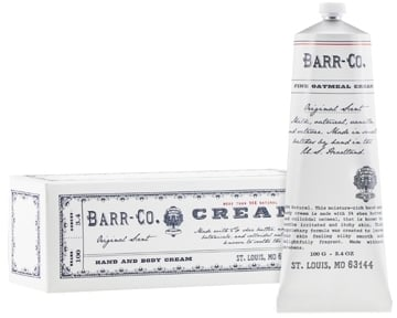 Barr-Co. Hand and Body Cream ($24)