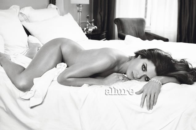 Debra Messing photographed by Patrick Demarchelier for Allure