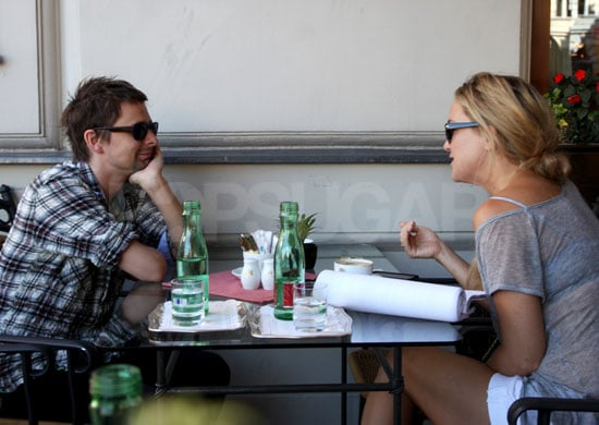 Pictures of Kate Hudson and Muse Lead Singer Matthew Bellamy in Vienna