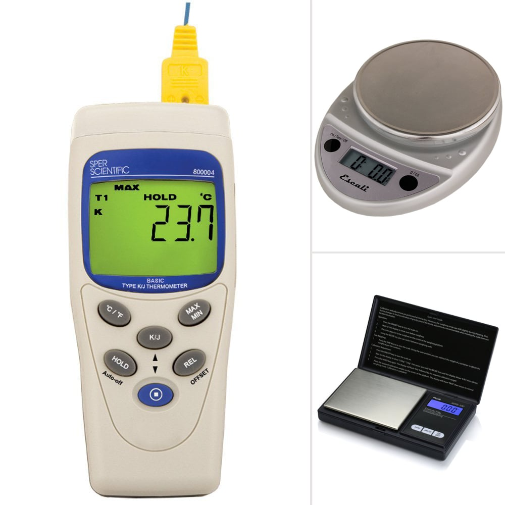 Scales and Thermometers