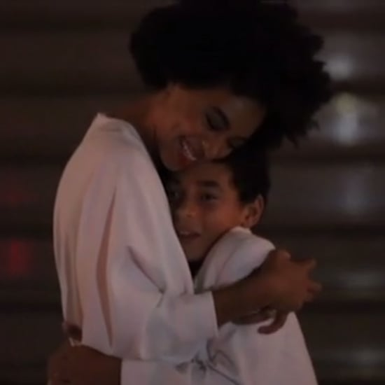 "Solange Knowles and Her Son Dancing to ""No Flex Zone"""