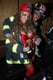 Nick Cannon and Mariah Carey put their spin on firefighter costumes for their 2008 party at NYC club Marquee.