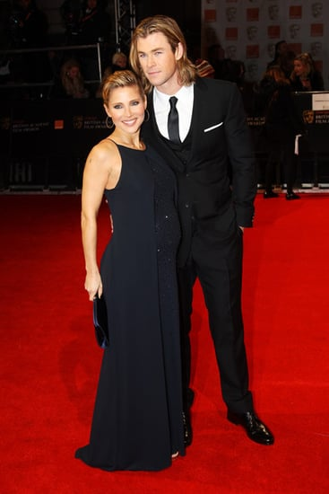 Elsa Pataky and Chris Hemsworth(2012 BAFTA)