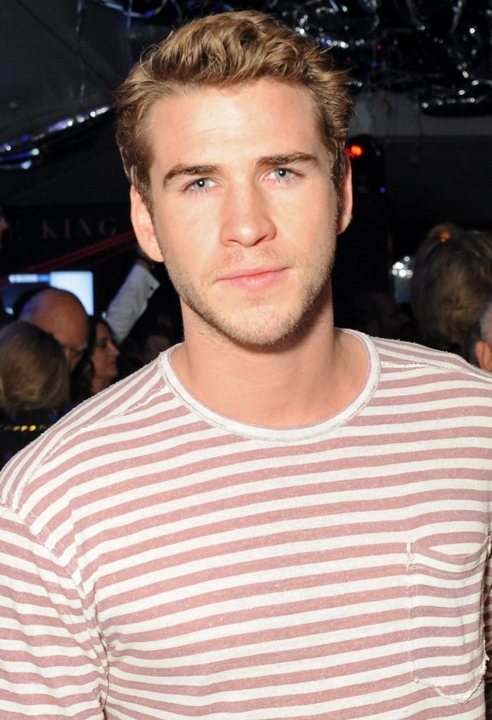 Liam Hemsworth Spends a Guys' Night Out at a VIP Cannes Bash
