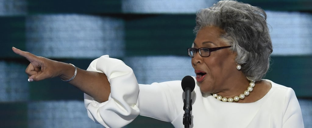 Joyce Beatty Swooped Into the DNC Wearing Melania Trump's Dress — Like a Boss