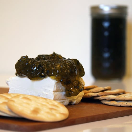 Pepper Jelly on Cream Cheese
