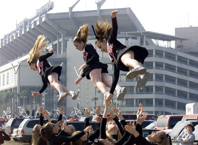 Cheerleading Leads to Serious Injury