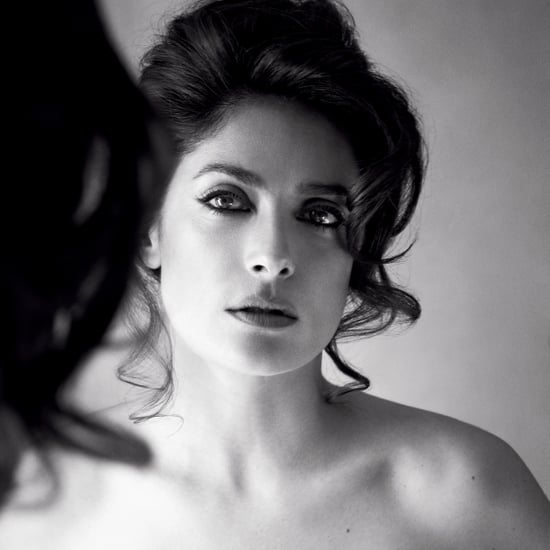 Salma Hayek Topless in Allure August 2015 | Photos