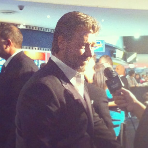 Russell Crowe brought his cute sons along to the Sydney premiere of Man of Steel. Cute!