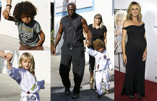 Photos of Seal and The Kids in LA
