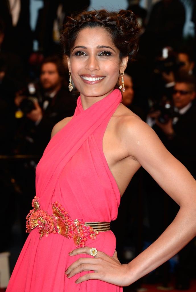 Freida Pinto, always a Cannes crowd favourite.
