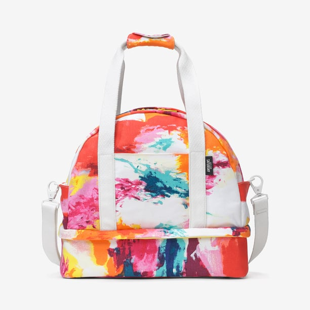 Summer marks the start of weekend getaways — wouldn't this Kate Spade Saturday weekender bag ($160) be the perfect accompaniment for all of your adventures? I love the bold abstract print and the handy-dandy messenger strap for easy lift-and-load access.  — CDC
