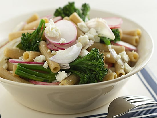 Fast and Easy Recipe For Whole Wheat Pasta With Broccolini and Feta