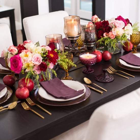 How to Style a Holiday Table