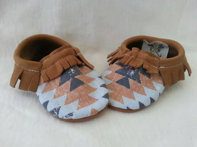 Canvas Moccasin
