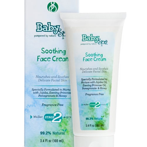 Baby Face Cream From Baby Spa