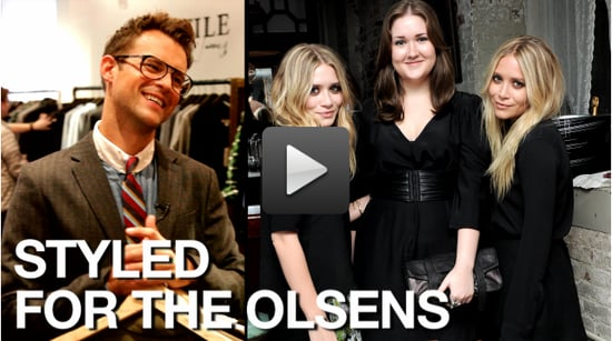 Video of Brad Goreski Styling Contest Winner In Elizabeth and James Clothes