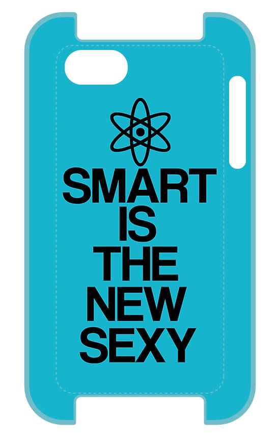 Get your friends talking by borrowing a line from the show with this smart is the new sexy iPhone case ($37).