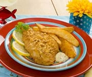 Fast & Easy Dinner: Oven-Fried Fish & Chips