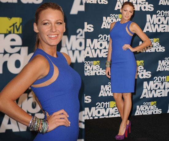 Blake Lively at 2011 MTV Movie Awards 2011-06-05 19:46:42