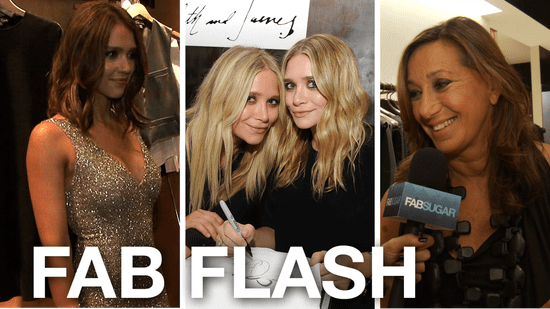 Claire Danes, Alexa Chung, Jessica Alba, and Mary Kate and Ashley Olsen all celebrate Fashion's Night Out!