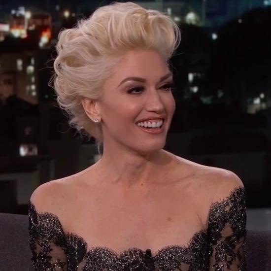 Gwen Stefani on Jimmy Kimmel Live February 2016