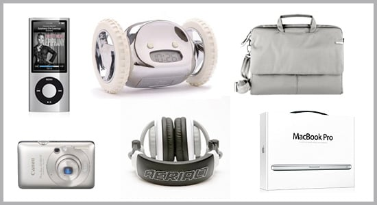 Technicolor Toys: Silver Gadgets and Accessories