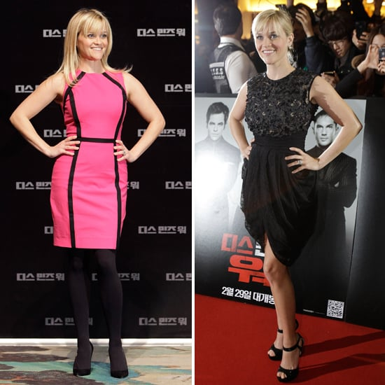 Reese Witherspoon Takes This Means War to South Korea