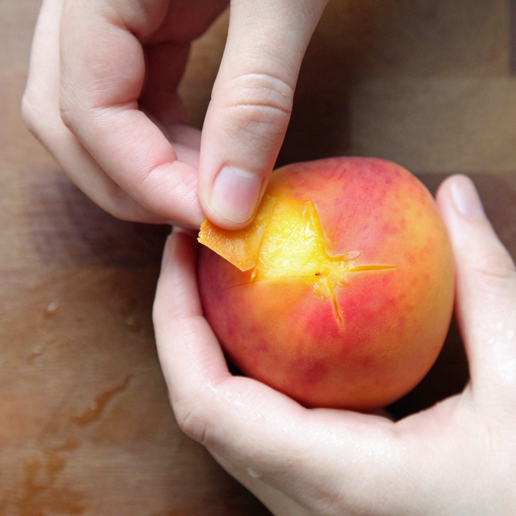 Peeling Peaches Easily