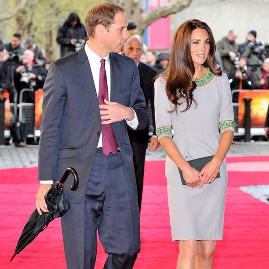 Kate Middleton Prince William London Premiere African Cats