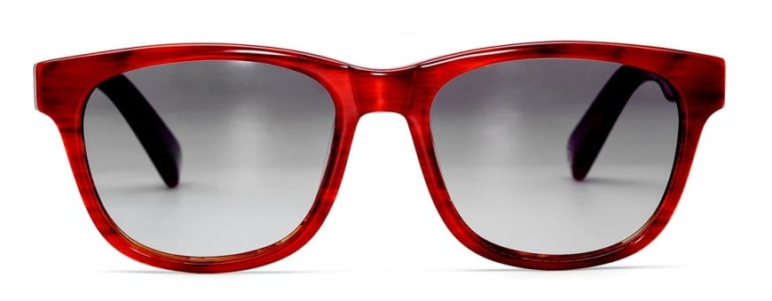 """The """"buy a pair, give a pair"""" initiative behind Warby Parker makes loving these Madison sunglasses ($95) all the sweeter. Between the statement red frame color, classic silhouette, and do-good cause, it feels like a real win-win eyewear situation. — Marisa Tom"""
