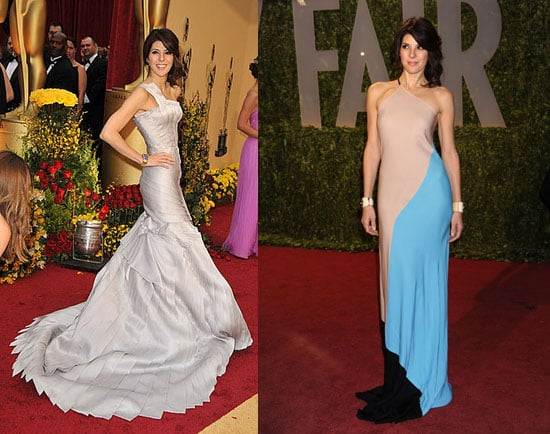 Marisa Tomei's 2009 Oscars Dresses
