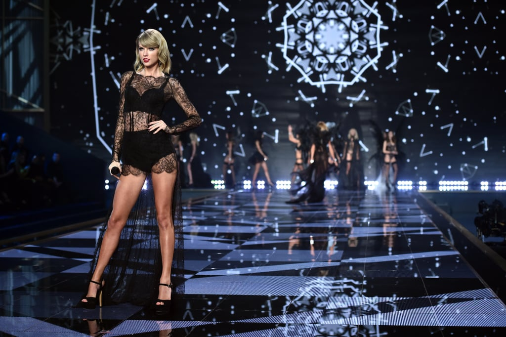 Taylor Swift performed for the second time in 2014.