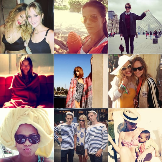 Parisian Pals, Pool Time, and More of the Week's Cute Celebrity Candids