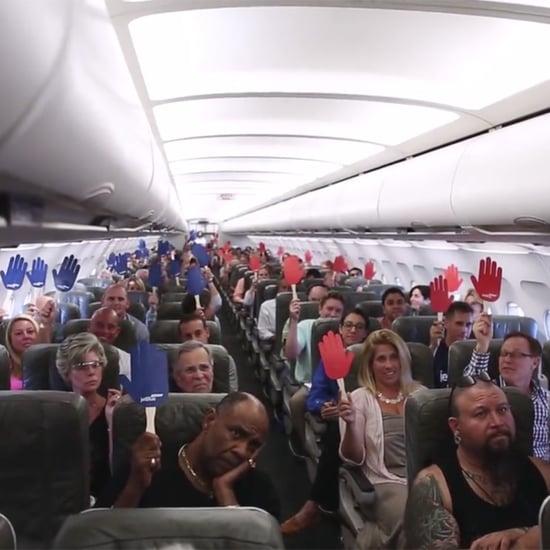 """JetBlue Airways """"Reach Across the Aisle"""" Video"""