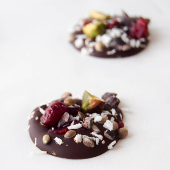 Healthy Dark Chocolate Superfood Buttons