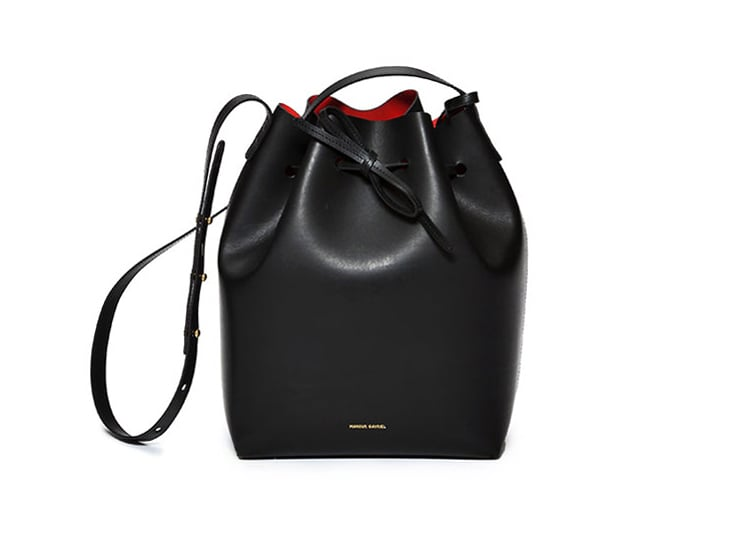 Truly elegant with its clean lines, Italian classicness, and nod to California cool, this Mansur Gavriel bucket bag ($495) is one of fashion's best-kept secrets. — Meg Cuna, style director
